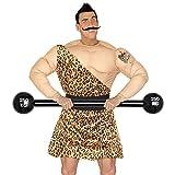 Aufblasbare Langhantel Bodybuilder Hantel aufblasbar 120 cm Gewichtheber Clown Kostüm Zubehör Zirkus Requisite Mottoparty Gag