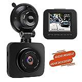AWESAFE Cámara de Coche Dash CAM 1080P Full HD 170°Ángulo con WDR G-Sensor,...