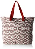ESPRIT Damen 027EA1O066 Schultertasche Rot (635 ORANGE RED)