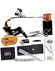 ✮ BARBER TOOLS ✮ Kit/Set/Coffret d'entretien et de soin pour barbe et rasage.
