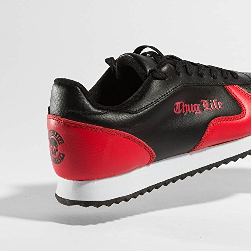 Thug Life Uomo Scarpe/Sneaker 187 Rosso