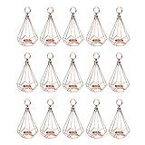 B Blesiya 15er-Set Deko Hängende Geometrie Kerzenleuchter Kerzenhalter