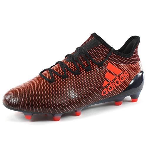 adidas Herren X 17.1 FG Fußballschuhe, Nero (Negbas/Rojsol/Narsol), 45 1/3 EU