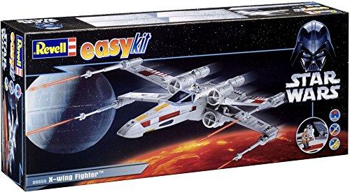 Revell easykit 06656 - Steckbausatz Star Wars X-Wing Fighter Luke (X Wars Wing Star Fighter)