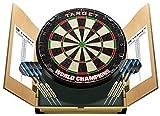Target-World-Champion-Dartscheibe für zu Hause, Set mit Kasten, Dartscheibe und Anzeigetafel