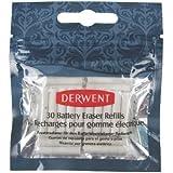 Derwent - Gomas de recambio para borrador a pilas
