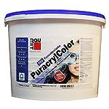 Fassadenfarbe, Sockelfarbe BauMit Pro PuracrylColor 15 L weiß wasserabweisend …