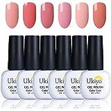 Ukiyo - Gel de esmalte para uñas UV LED de colores, serie High Gloss, 6 unidades 6PCS-3 …