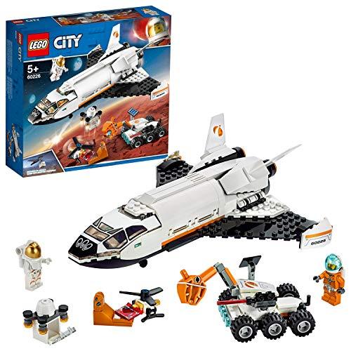 LEGO -La Navette Spatiale City Jeux de Construction, 60226, Multicolore