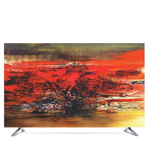 JT TV Dust Wasserdichter und Curve-Schutz, Sonnenschutz, LCD-Bildschirm, universeller Schutz 32 Color1 (Tv 32 Plasma De)