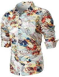 Ropa Hombre Camisetas, ❤️Zolimx Camiseta con Conjuntos Manga Larga para Hombre Tallas Grandes Blusas Ropa Hombre Verano 2018 Oferta…