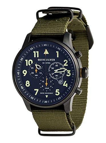Quiksilver Seafire Nato - Analog Watch - Analoge Uhr - Männer - ONE SIZE - Grün