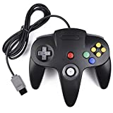 iNNEXT Retro Nintendo 64 N64 Controller,Kabelgebundener Gamepad Controller Joystick f�r Nintendo 64 Konsole N64 System, Schwarz Bild