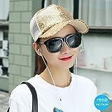 ZHANGYONG*Cap Kinder Sommer Baseball cap Smart Casual weiblichen Kappe kühler Kappe Sonnenblende hüte Strand, verstellbare ,4 Farb Dome