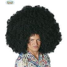Peluca afro gigante negra