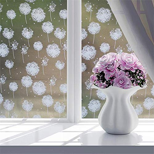 ZDTDX Wandsticker Badezimmer Glas Wandaufkleber Schattierung Fenster Film Selbstklebend Matt Transparent Undurchsichtig Tapete Pvc Diy Kunstwand