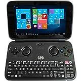 GPD Win 5.5 Inch Gamepad Tablet PC Intel Atom X7 Z8750 Windows 10 OS 4GB/64GB Game Console Quad Core 2.56GHz Gorilla Glass Touch Screen 1280*720 Type-C - Black - B01MCV637B