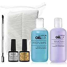 Laca de uñas Gel Kit con acero cutícula Pusher