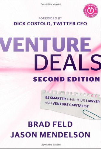 Buchseite und Rezensionen zu 'Venture Deals: Be Smarter Than Your Lawyer and Venture Capitalist' von Brad Feld