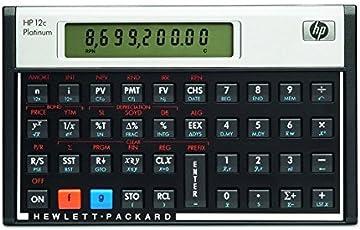 HP-12 C Platinum Hewlett Packard Finanzrechner