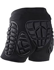 Soared 3D Impact Pantaloncini Protezione Imbottiti Hip Pantaloni Corti per Equitazione Sci Pattinaggio Snowboard Bambini Donna Uomo