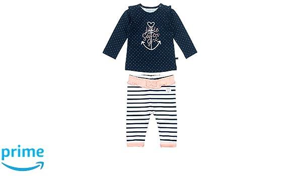 Feetje Baby-M/ädchen Kleid Kurzarm mit Alloverprint Sailor Girl