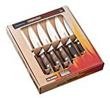 Tramontina 29899/214 Steak Knives Set - Light Black (6-Piece)
