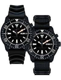 Chris Benz Deep 1000m Helium CB-1000-KD Automatic Mens Watch Diving Watch