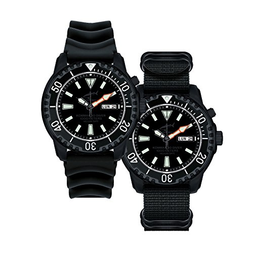 Chris Benz Defense Kommando Diver - Tiefschwarz