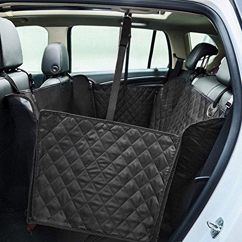 Kofferraumschutz für Hunde, Auto Hund Rücksitz, Autoschondecke für Hunde,Hund Autositz