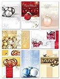 50 Weihnachtskarten Grußkarten Weihnachten Klappkarten mit Umschlägen 220-3200