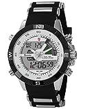 Shark Dual LCD Digital Armbanduhr XXL SH041