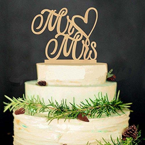 lag Hochzeit Tortenaufsatz Hochzeit Kuchen steckt Karte MR & MRS (Halloween-kuchen-dekoration Walmart)