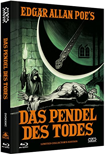 Das Pendel des Todes - uncut [Blu-Ray+DVD] auf 666 limitiertes Mediabook Cover C [Limited Collector's Edition]
