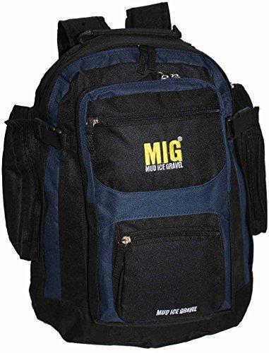 mens-large-plain-backpack-rucksack-bag-sports-hiking-school-work-navy