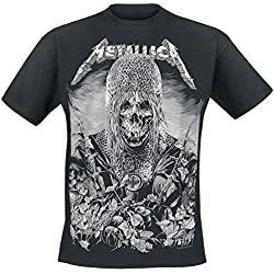 Metallica Templar Camiseta Negro