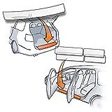 Passform Lackschutzfolie im Set für Ladekante und alle Einstiegsleisten/Türeinstiege transparent 150µm - Lackschutz passgenau für Fahrzeugtyp Siehe Beschreibung