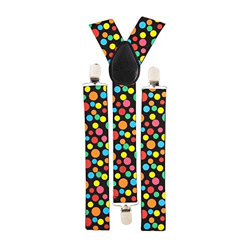 Widmann 7992D - getupfte Hosenträger, One Size, mehrfarbig (Tragen Hosenträger)