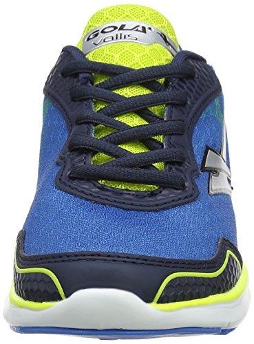 Gola Vallis, Scarpe Sportive Outdoor Bambino Blu (Blue/volt/navy/silver)