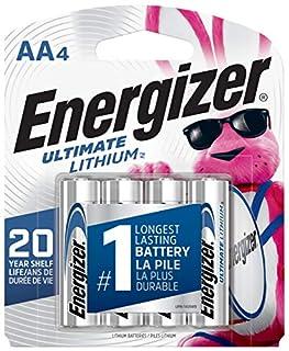 Energizer L91BP-4 batería no-recargable - Pilas (Litio, Cilíndrico, 1,5V, -40-60 °C, -40-60 °C, 5,05 cm) (B00003IEME) | Amazon price tracker / tracking, Amazon price history charts, Amazon price watches, Amazon price drop alerts