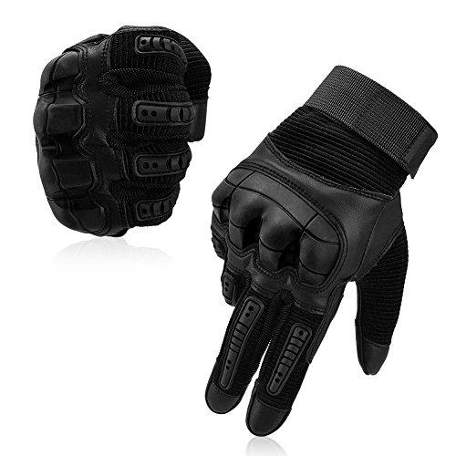 Vbiger Motorradhandschuhe Taktische Handschuhe Vollfinger Handschuhe für Motorrad Fahrrad Airsoft Militär Paintball -