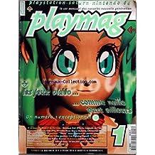 PLAYMAG [No 1] du 01/03/1996 - playstation-saturn- nintendo 64 - les jeux video - numero 1 exceptionnel