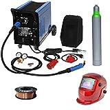 Güde Schutzgas Schweißgerät Mig 192/6K + WD Tools Schweißdrahtrolle 5kg Schweißhelm Schutzgas
