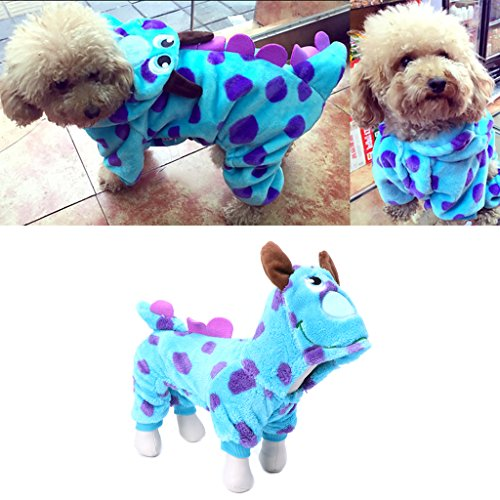 Baby Uk Spinne Halloween Kostüme (dairyshop Pet Hund Dragon Cosplay Kleidung, Winter Fleece Mantel Halloween Custume Outfit)