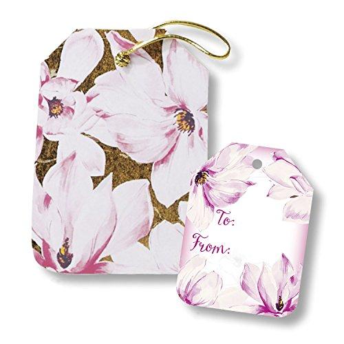 2 Magnolia Blossom (Jillson Roberts 6-CountTyvek Versandtaschen, gepolstert, in 8 Designs und 2 Größen erhältlich Magnolia Blossoms)