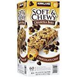 Kirkland Soft and Chewy Granola Bars - Chocolate Chip - 60 Bars