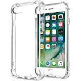 Funda iPhone 7 Funda iPhone 8 ONSON® Carcasa Gel iPhone 7/8 Bumper Slim Silicona Case Cover Para Apple iPhone 7/8 -Transparente