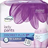 TENA Lady Pants Discreet Plus - Gr. Large (44-54) - PZN 10186879 - (10 Stück).