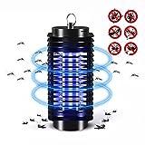 Elektronischer Insektenvernichter, Insektenabwehr, Mückenlampe wasserdichte Insektenfalle, eine leistungsstarke 2W Leuchtstoffröhre, effektive Bekämpfung von fliegenden Insekten, um Mückenstiche zu vermeiden——100% Zufriedenheitsgarantie