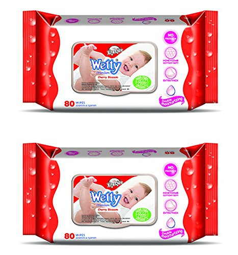 wetty premium wet wipes - cherry blossom (80 + 80 count) - 51p0ycWQP1L - Wetty Premium Wet Wipes – Cherry Blossom (80 + 80 Count) home - 51p0ycWQP1L - Home